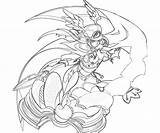 Blazblue Yayoi Calamity Trigger Coloring Character Pages Another sketch template