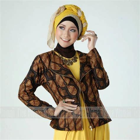 10 baju kantor batik wanita muslimah modern 2019 1000 baju batik kantor