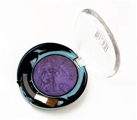 milani purr fect purple baked eyeshadow review
