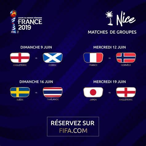 football coupe du monde feminine de la fifa france