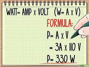 Formule Puissance Electrique : 3 mani res de calculer une puissance lectrique ~ Dode.kayakingforconservation.com Idées de Décoration
