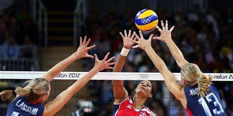 posisi pemain bola voli kumpulan olahraga