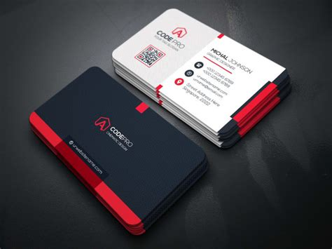 design professional business card  source file  tn