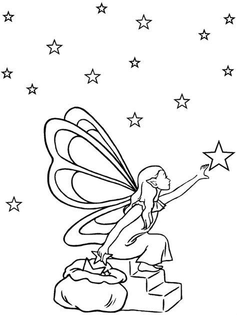 Fairy Mushroom Coloring Pages Shefalitayal