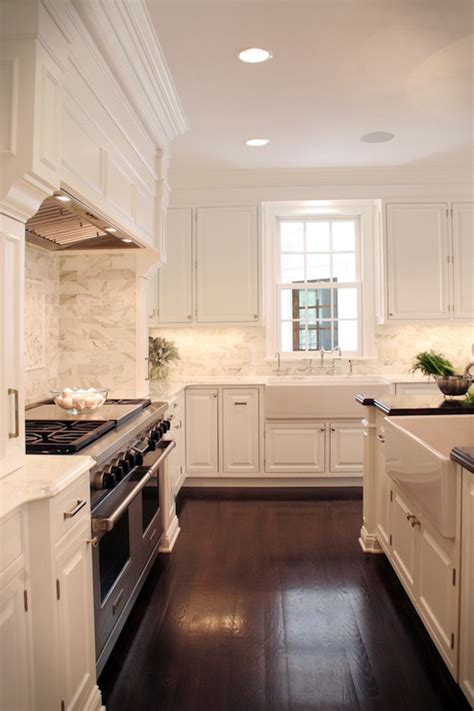 white cabinets traditional kitchen farrow ball