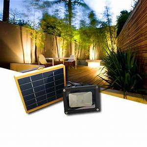 New process solar power floodlight high lumens
