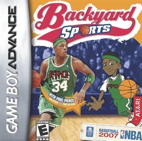 Backyard Football Gba by Backyard Football Rom Gameboy Advance Gba Emulator