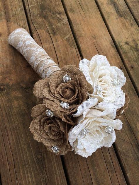 ideas  burlap flower tutorial  pinterest