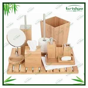 Bad Set Holz : bad accessoires bambus ~ Indierocktalk.com Haus und Dekorationen