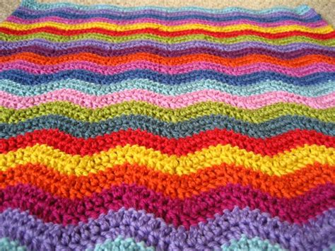 ripple crochet afghan patterns