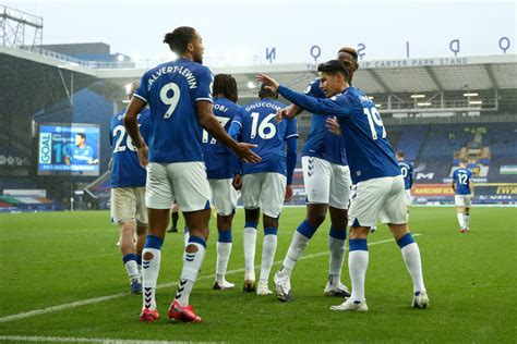 3-4-3 Everton Predicted Lineup Vs Leeds United - The 4th ...