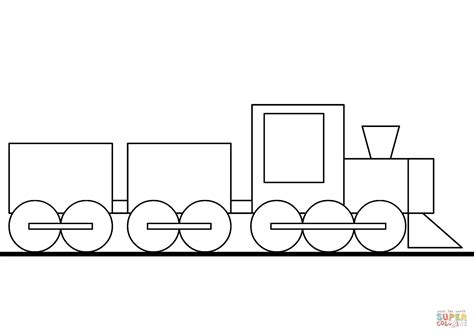 cartoon train coloring page  printable coloring pages
