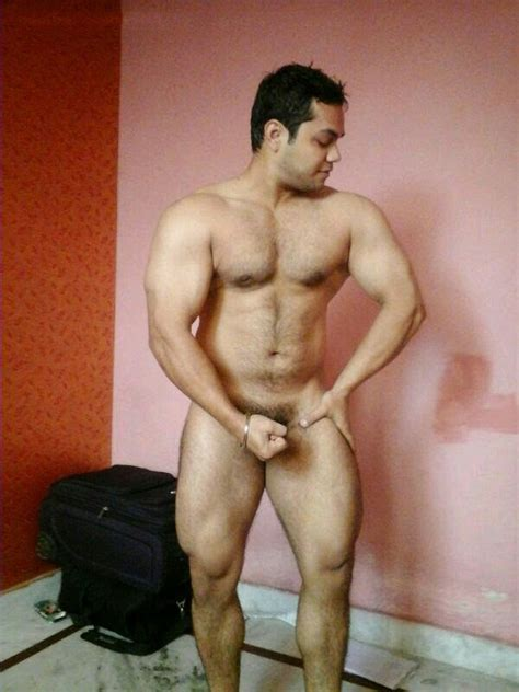 Nude pics of sexy desi hunks showing off their bodies ...