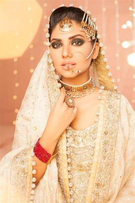 Pakistani Bridal Jewelry Sets  White Style Pk