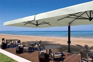 Sonnenschirm scolaro alu double35x7 stockschirm for Französischer balkon mit großer sonnenschirm rechteckig