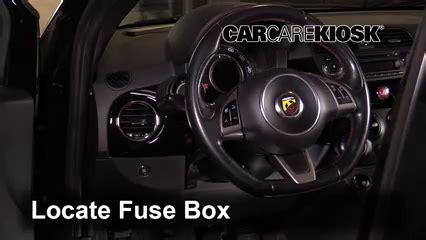2012 Fiat 500 Fuse Box Location by Interior Fuse Box Location 2012 2017 Fiat 500 2013 Fiat