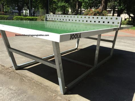 joola ping pong table joola city outdoor ping pong table best outdoor ping