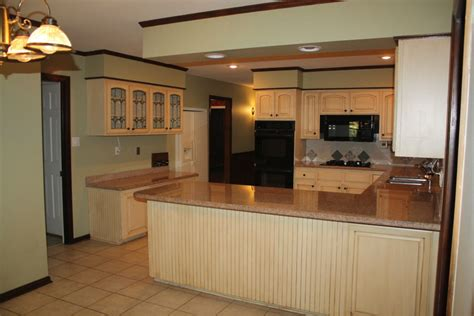 Kitchen Floor Plans And After by Kitchen Floor Plans Before And After Traditional Home