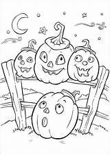 Coloring Halloween Pages Fun Hative Source sketch template
