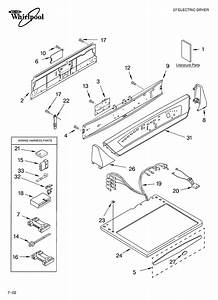 Top And Console  Literature Diagram  U0026 Parts List For Model