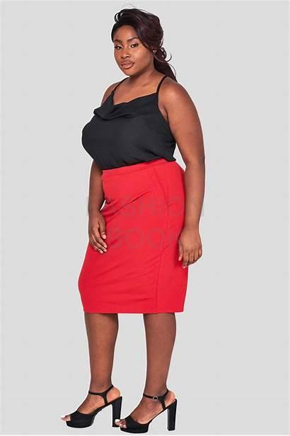 Wholesale Skirt Pencil Cowl Curve Plus