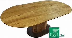 Esstisch Rund Holz Ausziehbar : esstisch solo ii oval ausziehbar integrierte platte foto wildeiche ~ Bigdaddyawards.com Haus und Dekorationen