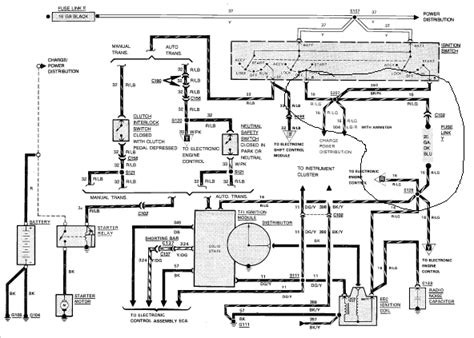 Wiring Diagram For 1988 Ford Ranger i a 1988 ford ranger 2 9 liter 4x4 that has no power