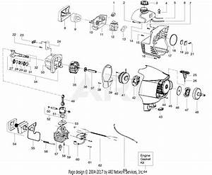 Poulan 31wg Gas Trimmer  Weed U0026 39 N Go 31wg Gas Trimmer Parts Diagram For Engine