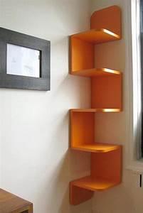 Etagere Cube But : 1001 id es tag re d 39 angle murale arrondissez les angles ~ Teatrodelosmanantiales.com Idées de Décoration