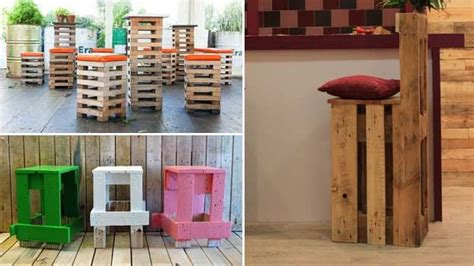 sgabelli economici sgabelli economici e moderni con bancali in legno