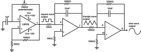 How Build Simple Function Generator Circuit With