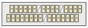 Toyota Avalon  2004 - 2007  - Fuse Box Diagram