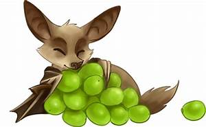 Cute Fruit Bat Drawing