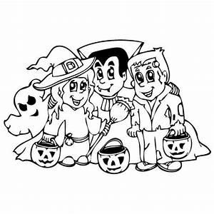 Dessin Halloween Vampire : coloriage d 39 halloween 4 le vampire le fantome et la sorci re ~ Carolinahurricanesstore.com Idées de Décoration