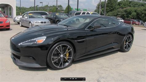 Aston Martin V12 Vanquish by 2014 Aston Martin Vanquish V12 Start Up Exhaust And In