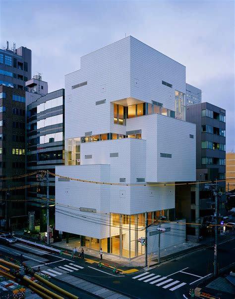 nice piece  modern urban japanese architecture