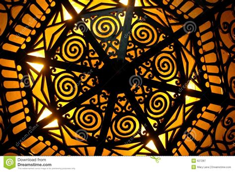 art deco lighting stock image image of architecture