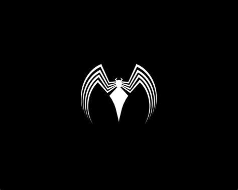 Spider-man Spider-man Logo Venom Black Background Wal