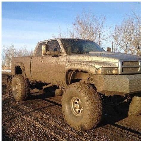 dodge mud truck dodge cummins turbo diesel lifted truck mud dodge