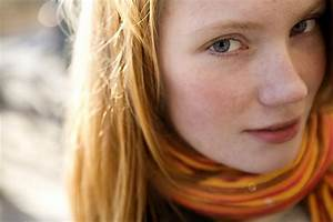 Redhead teen has natural beauty