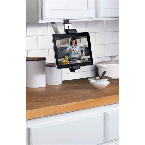 porte tablette cuisine belkin kitchen cabinet mount accessoires tablette belkin