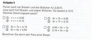 Ionisierungsenergie Berechnen : br tchen gleichung aufstellen florian kauft vier brezeln und drei br tchen f r 2 50 ~ Themetempest.com Abrechnung