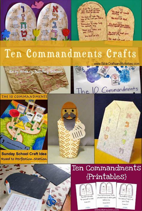crafts ten commandments bible crafts and activities 10 | Ten Commandments Crafts V2