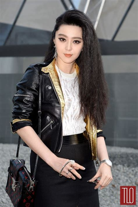fan bingbing   louis vuitton fashion show tom lorenzo