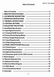 Ibm L170 Lcd Monitor Sm Service Manual Download