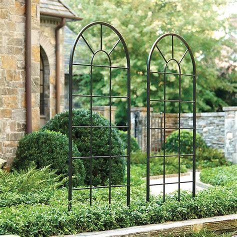 Metal Garden Trellis With Tree Of Design decoration iron trellis garden why should you iron