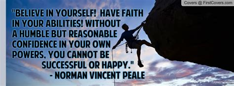 norman vincent peale quote facebook profile cover