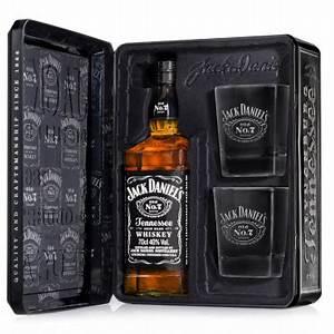 Coffret Whisky Avec Verre : coffret jack daniel 39 s 2 verres 70cl 40 ~ Teatrodelosmanantiales.com Idées de Décoration