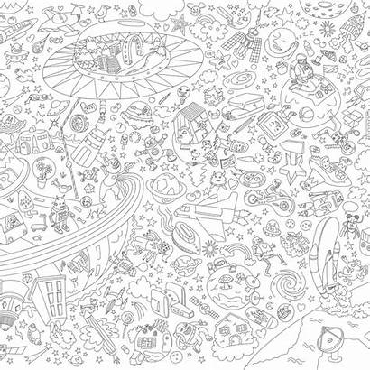 Coloring Poster Giant Omy