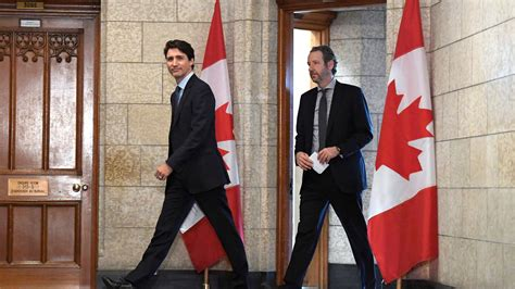 justin trudeaus political crisis widens  top aide